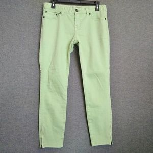 Free People Skinny Ankle Zippers Jeans Size 28